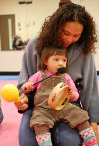 Mother and Toddler at Music Together