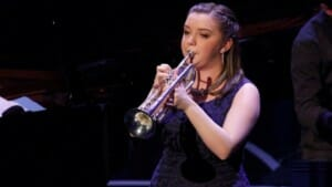BBC Young Jazz Musician: Teenage trumpeter Alexandra Ridout wins