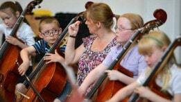Sistema youth orchestra