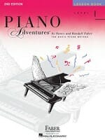 Cover of Faber & Faber Piano Adventures Lesson Book, Level 1