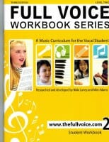 Cover of The Full Voice Workbook Series, Level 2