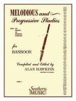 Cover of Hawkins: Melodious & Progressive Studies for Bassoon