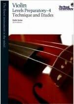 RCM Technique & Etudes for Violin Preparatory - 4