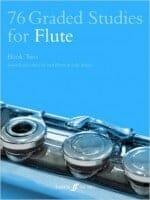 Cover of 76 Graded Studies for Flute