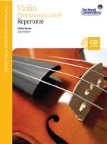 RCM Violin Preparatory Level Repertoire