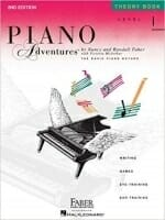 Cover of Piano Adventures Theory Book Level 1