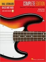 Cover of Hal Leonard Complete Method for Bass