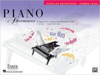 Cover of Faber Piano Adventures Popular Repertoire Book Primer Level