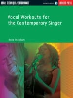 Cover of Vocal Workouts for the Contemporary Singer (Berklee Press)