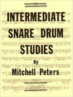 Cover of Intermediate Snare Drum Studies by Mitchell Peters