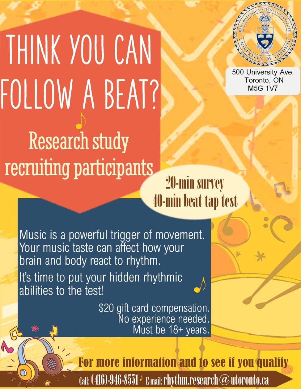 University of Toronto Rhythm Study