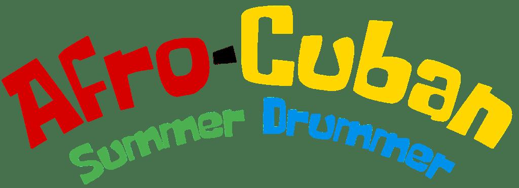 Afro-Cuban Summer Drummer