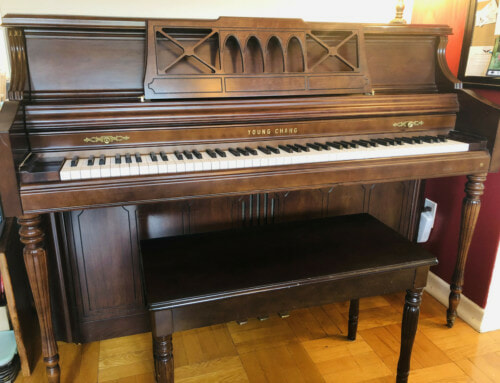Upright Piano available for 1 year Loan