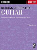 Cover of Reading Studies for Guitar by William Leavitt